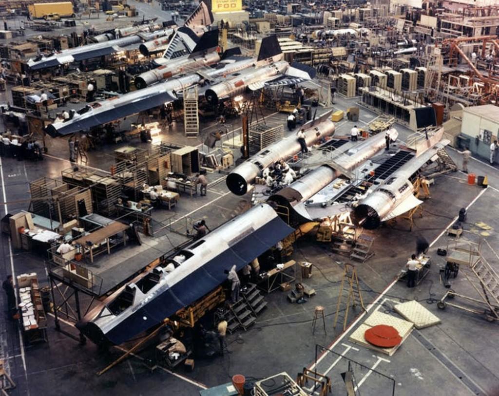 SR-71 Blackbird Factory
