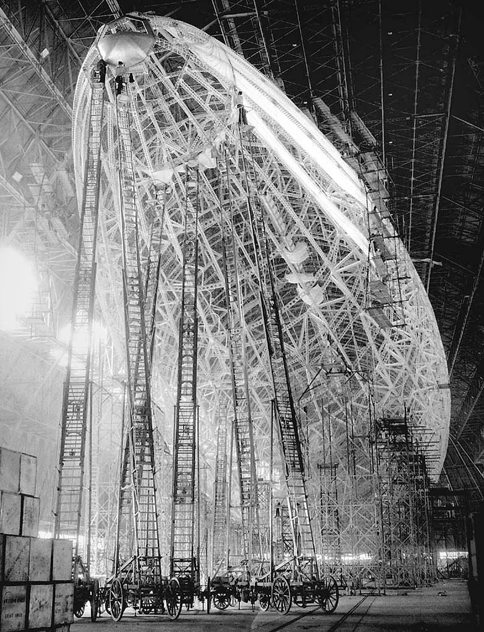 The USS Akron The USS Akron