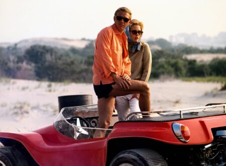 Thomas Crown 1968 35color+car+crop1 450x330 - Steve McQueen's Beach Buggy