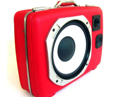 Vintage Suitcase BoomBoxes  450x330 - BigRed by BoomCase