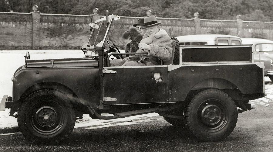 Winston Churchill's Land Rover