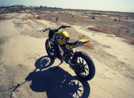 Yamaha R1 Flat Tracker 450x330 - Yamaha R1 Flat Tracker by Gregg's Customs
