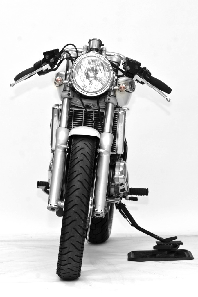 custom triumph motorcycle 5 1998 Triumph Adventurer by Steel Bent Customs