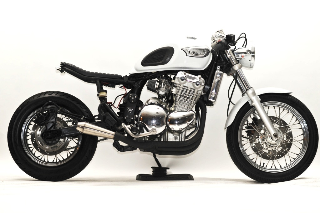 custom triumph motorcycle 1998 Triumph Adventurer by Steel Bent Customs