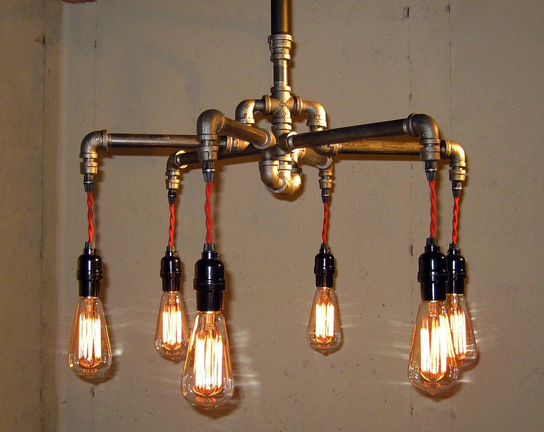 com l light live chandelier pixball pot rack fixture edge steampunk