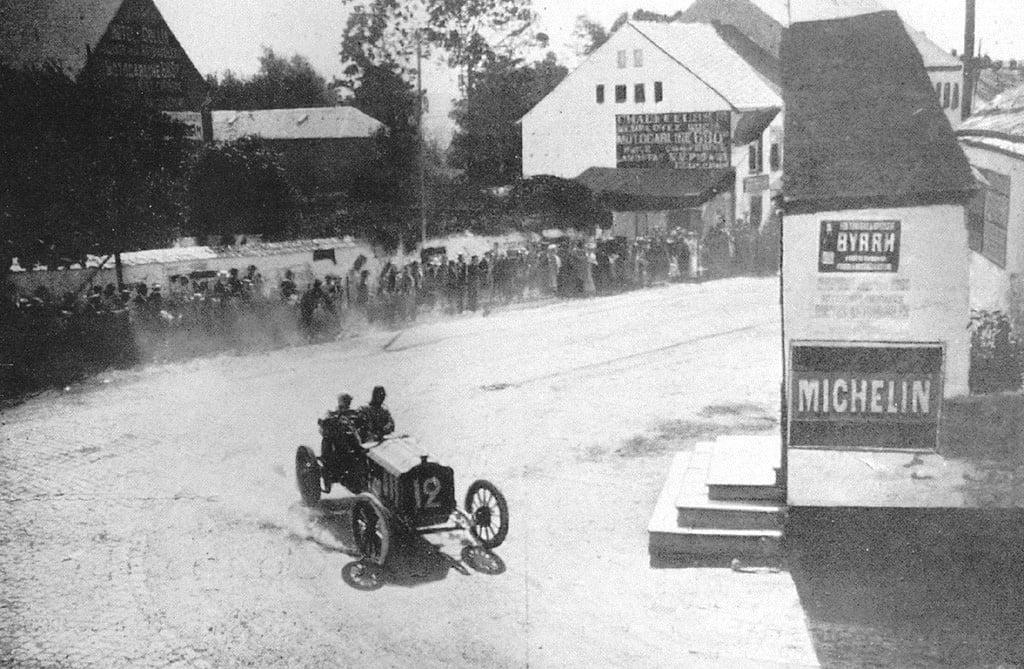 1906 circuit des ardennes - henri rougier (lorraine-dietrich) 3rd
