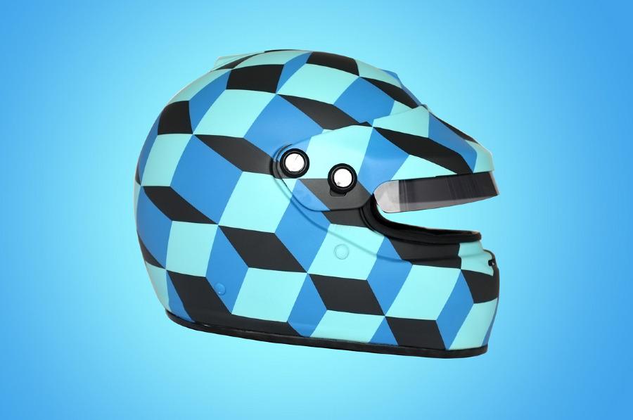 Cube Helmet by Death Spray
