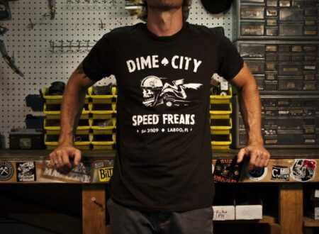 "Dime City Cycles Speed Freaks Tee 450x330 - Dime City Cycles ""Speed Freaks"" Tee"