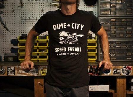Dime City Cycles Speed Freaks Tee