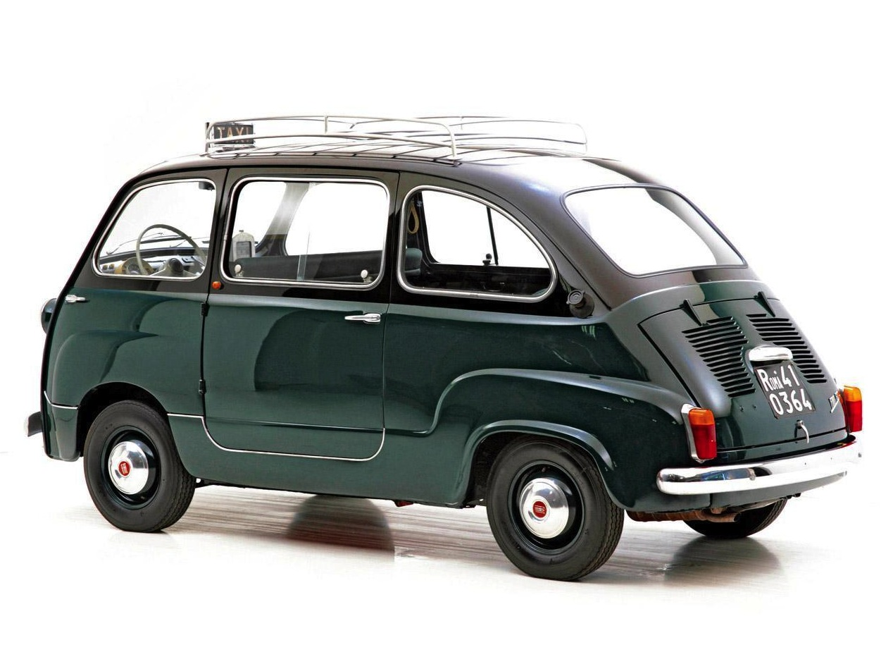 1960 fiat 600 multipla silodrome. Black Bedroom Furniture Sets. Home Design Ideas