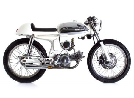 Honda S90 Cafe Racer 450x330 - Honda S90 Cafe Racer by Deus Ex Machina