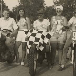 Flat Track Checkered Flag