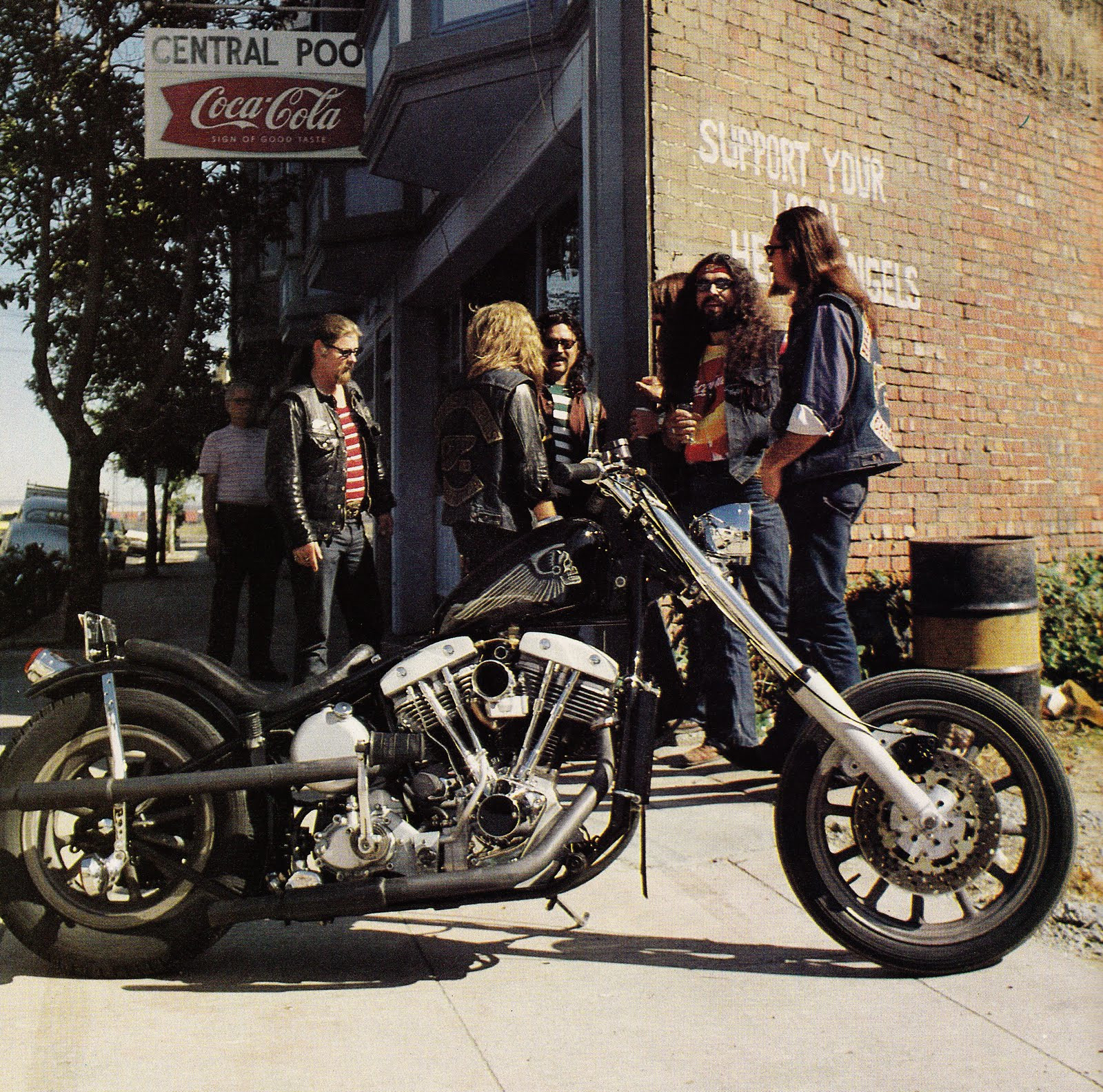 Henry Davidson Bike >> Support Your Local Hell's Angels