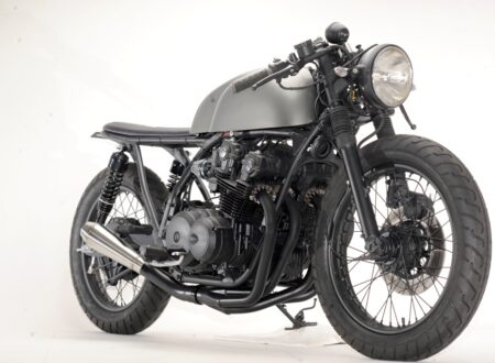 honda cb750 cafe racer 6 450x330 - Honda CB750 Cafe Racer by Steel Bent Customs