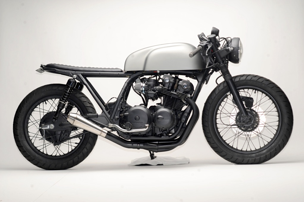 Honda CB750 Cafe Racer By Steel Bent Customs
