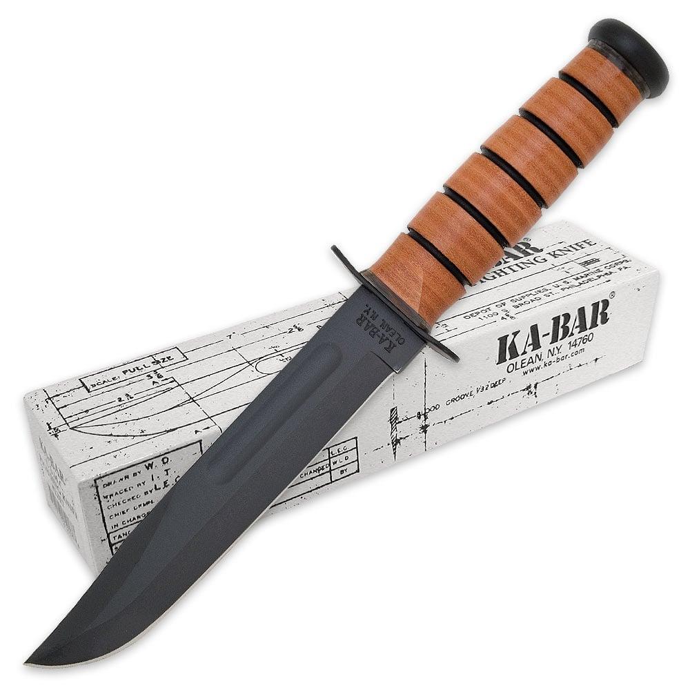 ka bar knife KA BAR US Marine Corp Fighting Knife