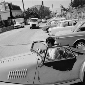 Mick Jagger in a Morgan