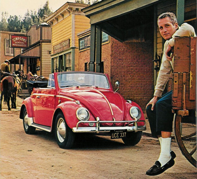 paul newman Paul Newman & A Red Beetle