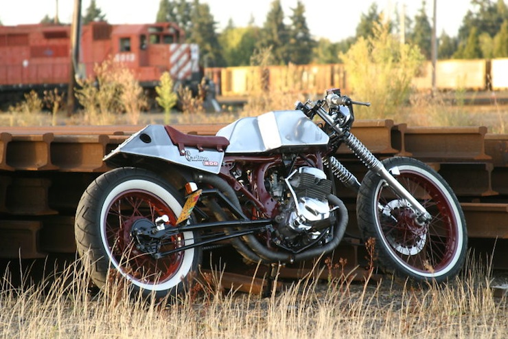 1980 Honda CM 200 Café Racer 4 The Silodrome Selection
