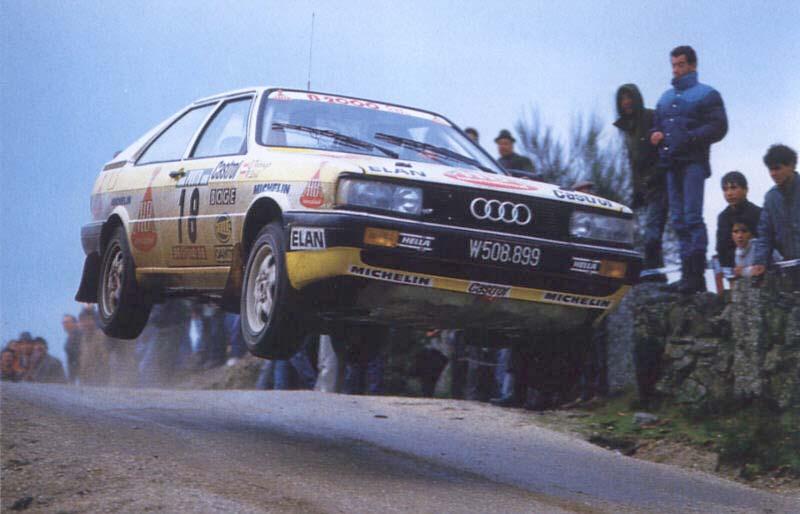 1987 AUDI Rally Portugal