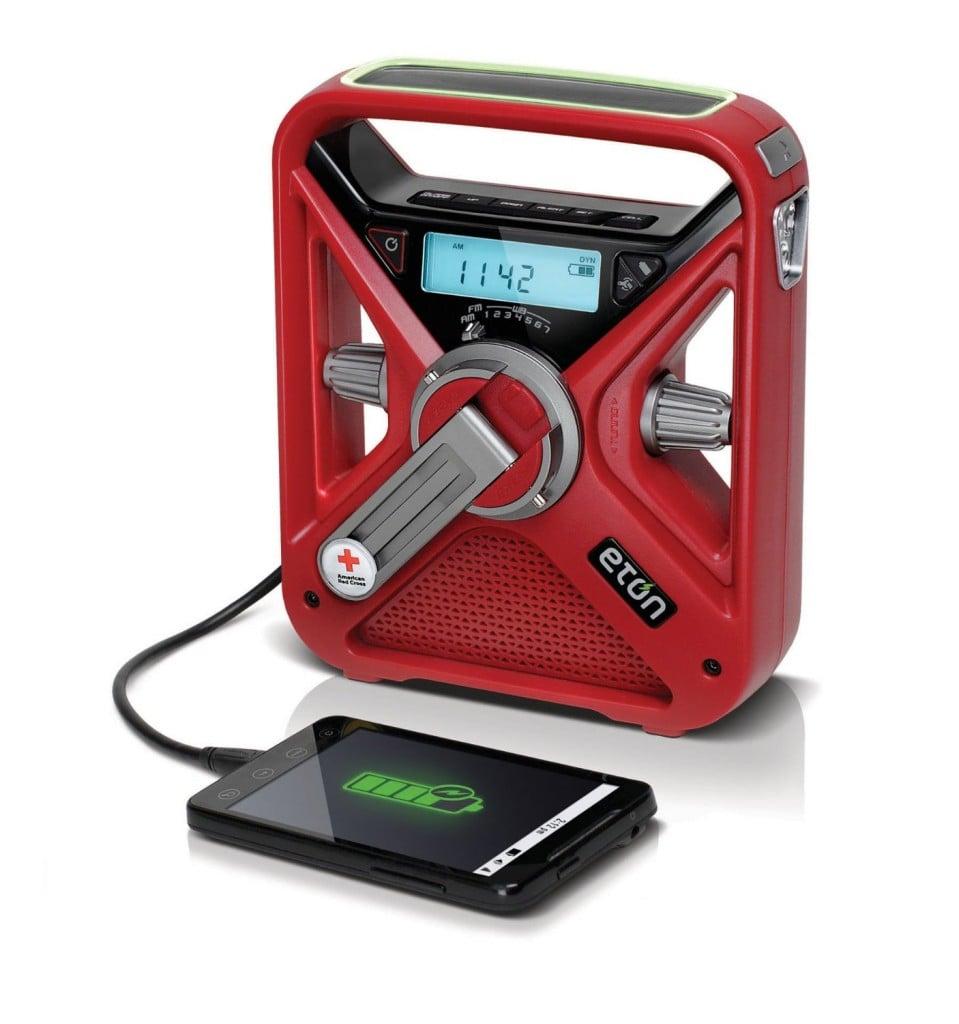 American Red Cross FRX3 Hand Turbine Radio Smart Phone Charger