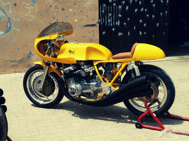 BENELLI 750 1 Benelli 750 Racers
