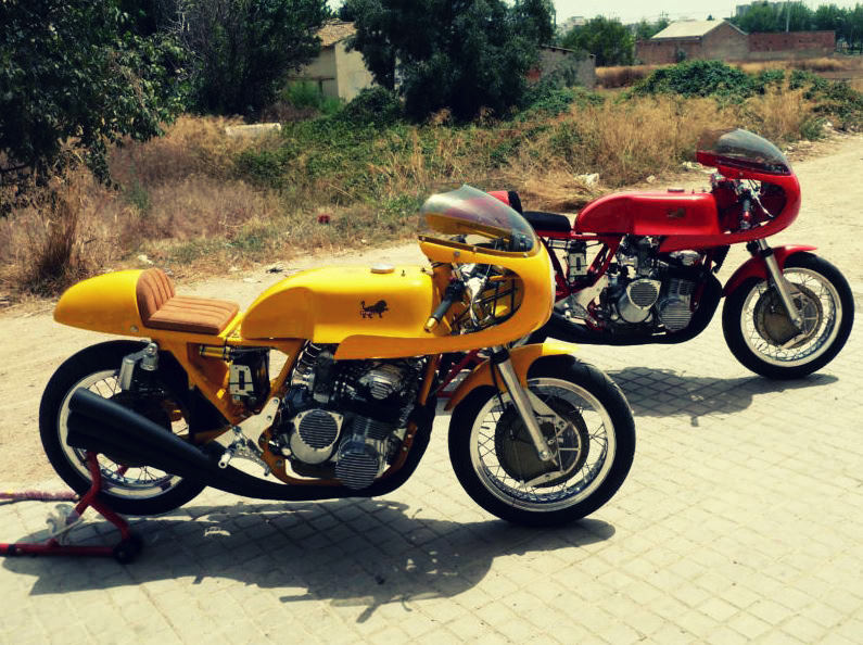 BENELLI 750 4 Benelli 750 Racers