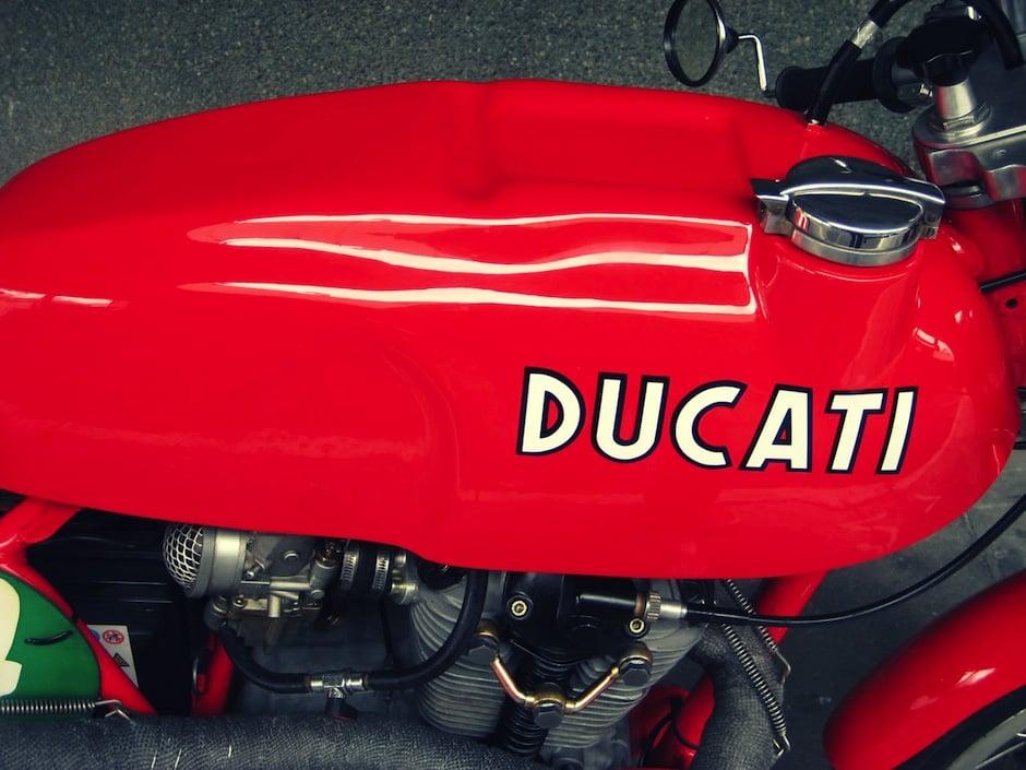 Ducati 350 motorcycle 1