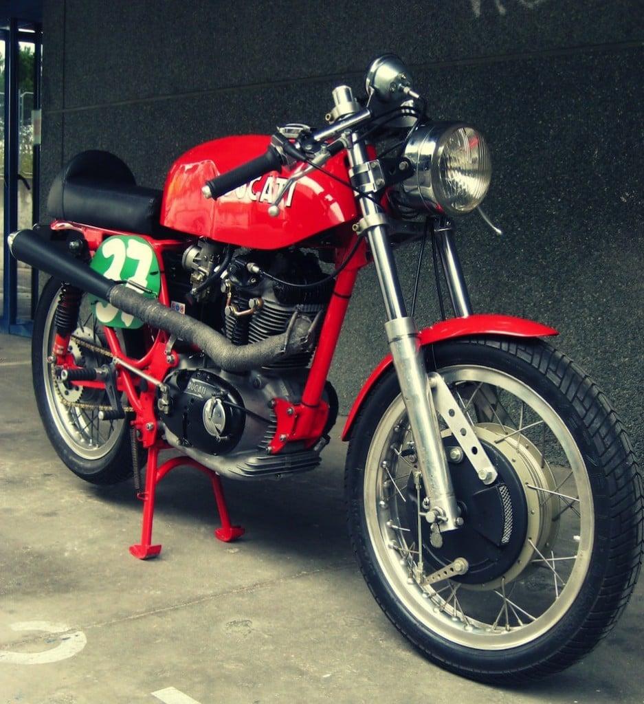 Ducati 350 motorcycle 3
