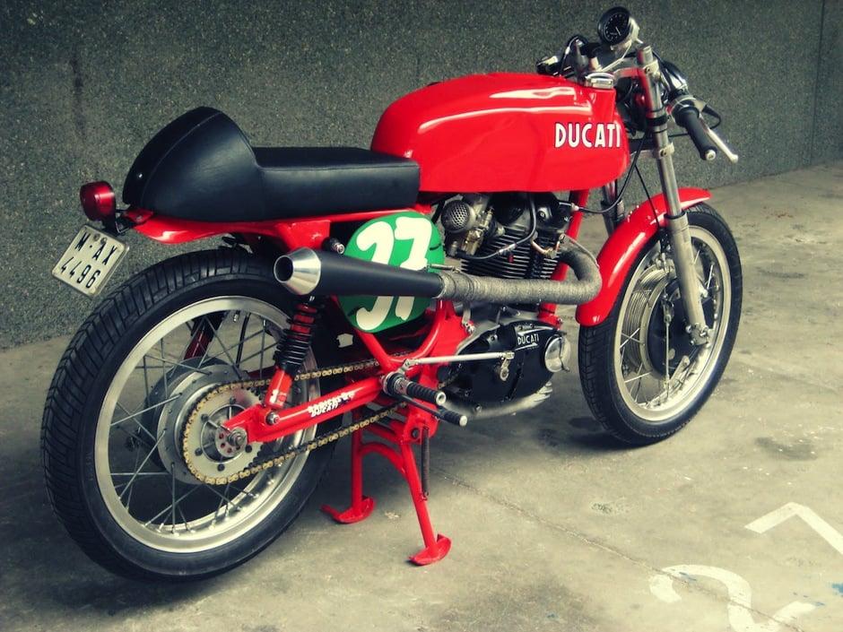 Ducati 350 motorcycle 4
