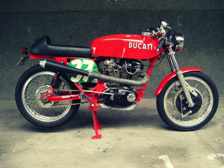 Ducati 350 motorcycle