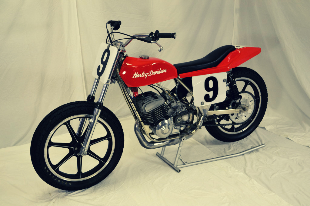 Harley Davidson MX250 Flat Track Racer 3 The Silodrome Selection