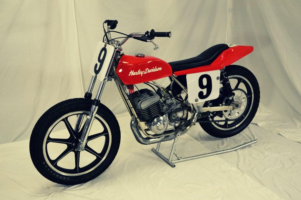 Harley Davidson MX250 Flat Track Racer 3 The Silodrome Selection