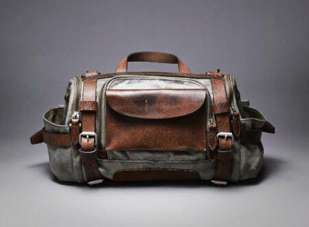 Paratrooper Camera Bag Wotancraft Atelier
