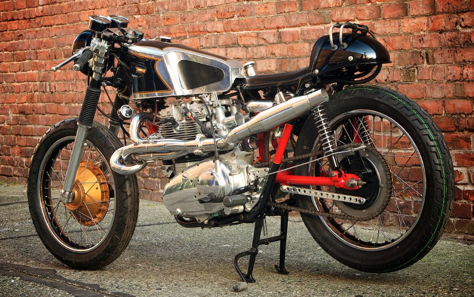Trident Cafe Racer by Super Rat