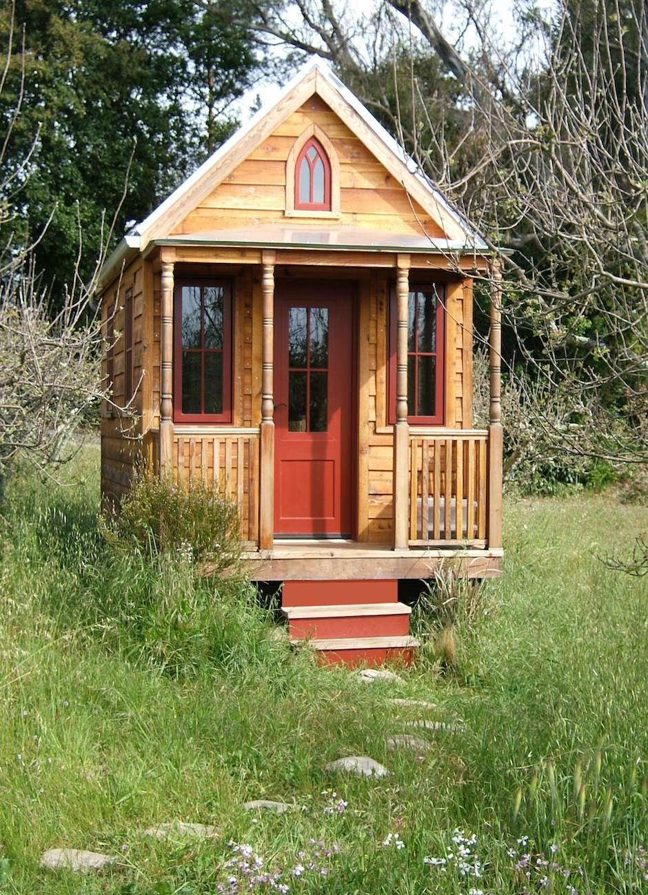 Проекты дачных домиков для 6 соток: фото, описание и требования 61