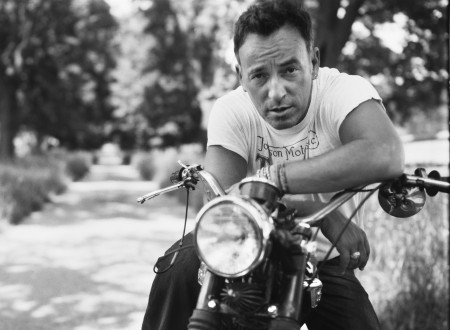bruce springsteen motorcycle 450x330 - The Boss