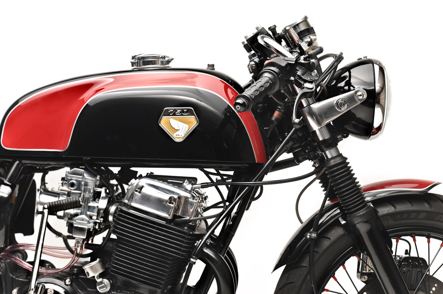 honda cb750 cafe racer 2 CB750 Cafe Racer by Dime City Cycles