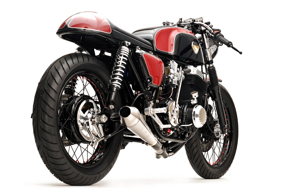 honda cb750 cafe racer 5 CB750 Cafe Racer by Dime City Cycles