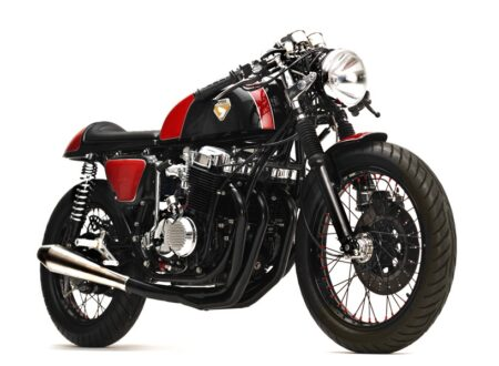 honda cb750 cafe racer 6 450x330 - CB750 Cafe Racer by Dime City Cycles