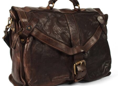 italian leather briefcase 450x330 - Leather Briefcase by Campomaggi