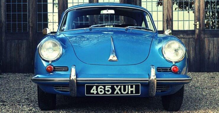 1962 Porsche 356 B Coupe Car