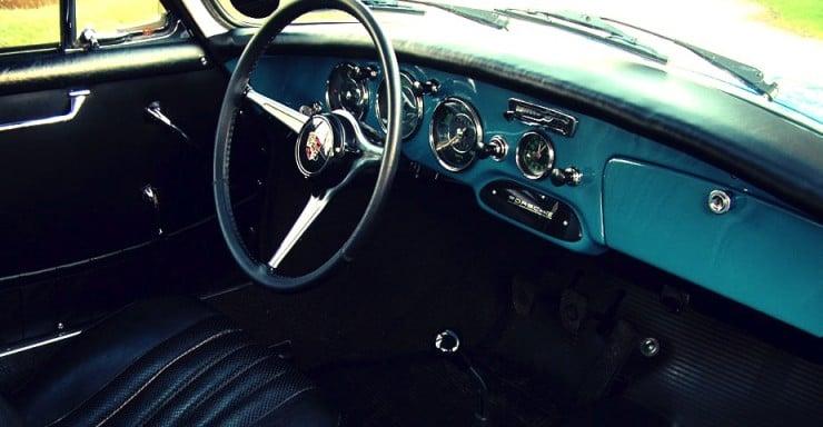 1962 Porsche 356 B Coupe Interior