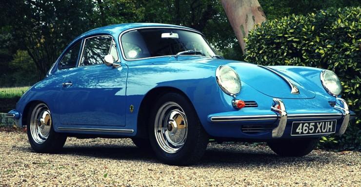 The 1962 Porsche 356 B Coupe