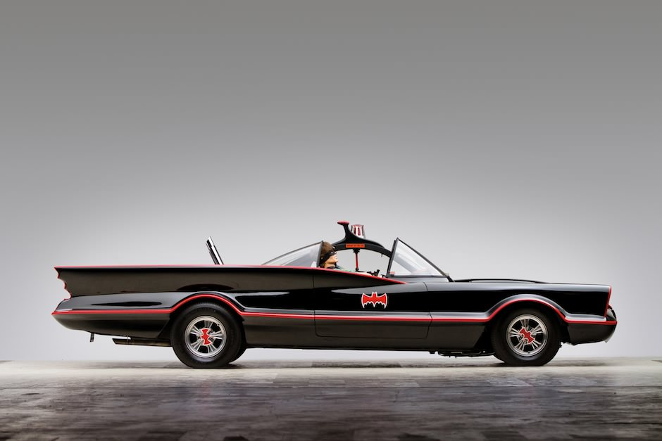 1966 Chevrolet Batmobile and 1966 Yamaha Batcycle 1 1966 Chevrolet ...