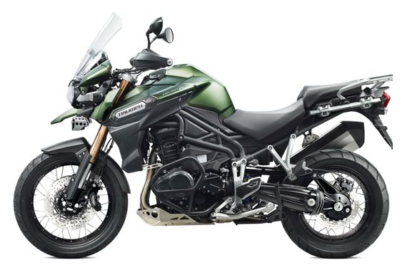2013 Triumph Tiger Explorer XC Motorbike