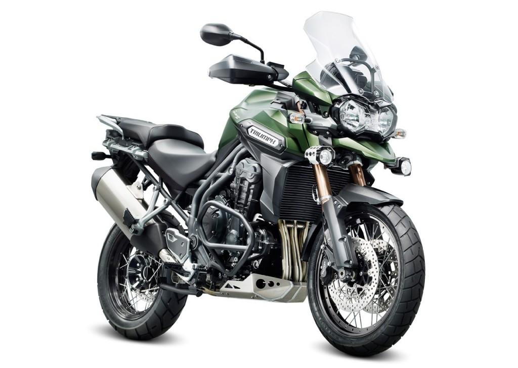 2013 Triumph Tiger Explorer XC Motorcycle