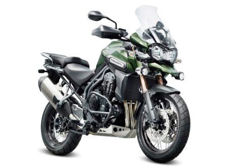 2013 Triumph Tiger Explorer XC Motorcycle