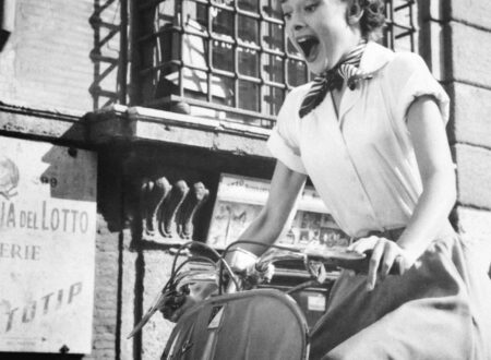 Audrey Hepburn and her Vespa 450x330 - Audrey Hepburn and her Vespa