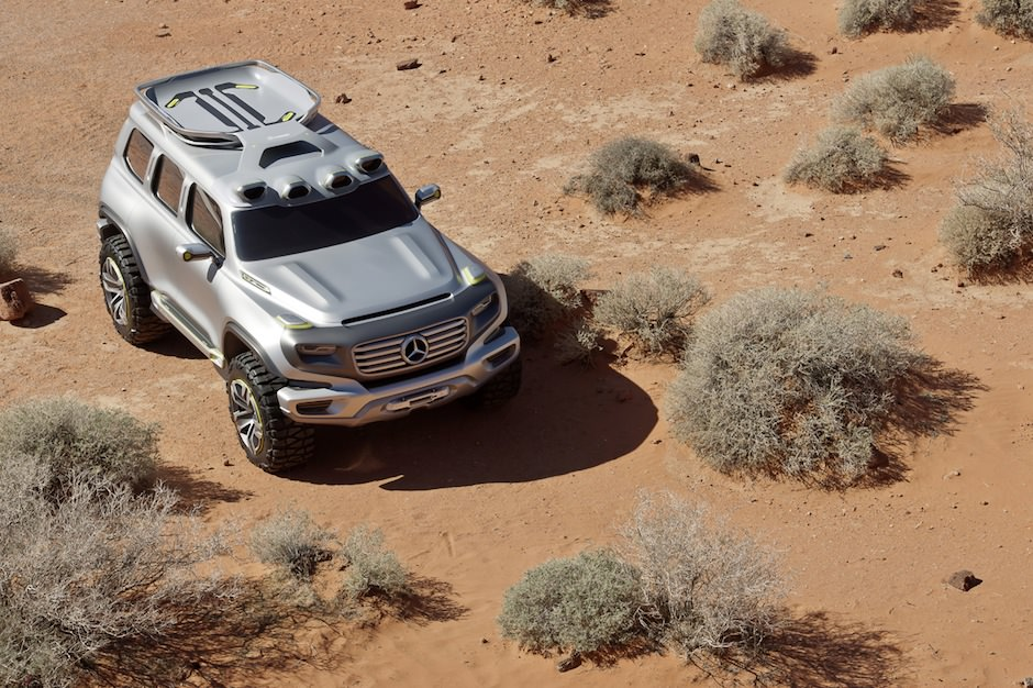Mercedes-Benz Ener-G-Force Concept 1
